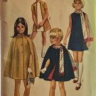 Simplicity 9247 Girls' Dress, Cape and Scarf Sewing Pattern size 14 bust 32