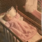 BABY Fashions pattern 133 Patons Beehive Knitting and Crocheting Booties, bonnets, gown, sweaters