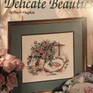 Leisure Arts Cross Stitch leaflet 2742 Delicate Beauties by Paula Vaughan