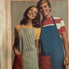 Simplicity 5546 Super Simple adjustable Apron Sewing pattern One Size
