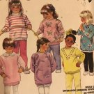 McCall's 3314 Children's Dress, Top, Dickey and Pants Leggings sewing pattern size 2 3 4