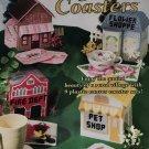Plastic Canvas Village Coasters The Needlecraft Shop 846518 Firehouse Pet Shop Coffee Shop