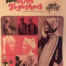 The GYPSY Knit Togethers Jack Frost Scarves, Hats, Mittens & more Vintage 1970 knitting pattern