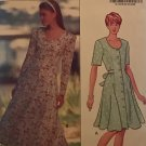 Butterick Sewing Pattern 5436 Misses Dress long or short sleeves size 14 16 18