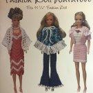 Fashion Doll Wardrobe to Crochet from Maggie's Crochet 20 designs
