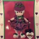 Raspberry Fluff Crochet doll pattern Cupcake Corner Dumplin Designs CDC410