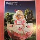 "Amy Doll Dress Crochet Pattern Fibre Craft 240 for 11 1/2"" doll"