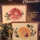 Beautiful Blossums flowers Cross Stitch Pattern American School of Needlework 3689