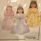 "Pretty Princesses 18"" Doll Costumes Pattern Fancywork and Fashion Sewing Pattern 1108"