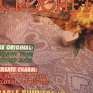 Decorative Crochet Magazine back issue No. 34 July 1993 Doilies Bedspread Table Runners in Filet