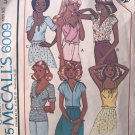 McCall's 6009 Misses' SET OF TOPS Vintage Sewing Pattern size LARGE 18 20