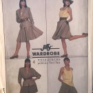 Simplicity 8424 Misses' Pull-On Shorts and Skirt, Top and Unlined Jacket sewing pattern size 6 -10