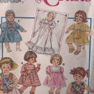 """Simplicity Crafts 8796 Doll Clothes Wardrobe 12"""" to 22"""" dolls Sewing Pattern"""
