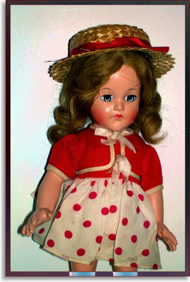 Collectible Effanbee Anne Shirley Vintage Doll