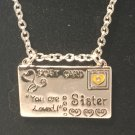 Sisters Post Card Necklace  | 1 All Fashion Jewelry
