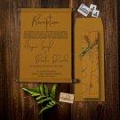 Copper Royal Scroll Wedding Invitations