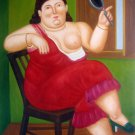 Rep. Fernando Botero 24x36 in. stretched Oil Painting Canvas Art Wall Decor modern46D