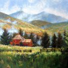 Country 20x24 in. stretched Oil Painting Canvas Art Wall Decor modern304