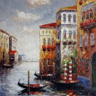 Venice 16x20 in. stretched Oil Painting Canvas Art Wall Decor modern533
