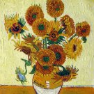 Rep. Vencent Van Gogh 16x20 in. stretched Oil Painting Canvas Art Wall Decor modern303