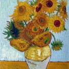 Rep. Vencent Van Gogh 12x16 in. stretched Oil Painting Canvas Art Wall Decor modern006