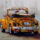 Car 12x12 in. stretched Oil Painting Canvas Art Wall Decor modern004