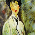 Rep. Amedeo Modigliani 36x48 in.  Oil Painting Canvas Art Wall Decor modern05D