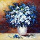 Vase Flower 28x36 in.  Oil Painting Canvas Art Wall Decor modern401