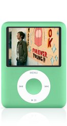 iPod nano, 8GB - Green