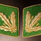 SS Police Major Collar Tabs