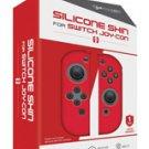 Nintendo Switch Neo Red Silicone Joy-Con Skin 2 PK