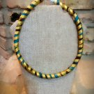 African Necklace, Fabric Necklace, Ankara Necklace, Rope Necklace, Gift for Mom, Gift for Sister