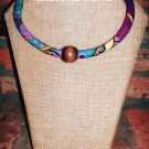 Ankara Necklace, Tribal Necklace, African Necklace, Beaded Necklace, Friendship Gift, Gift for Her