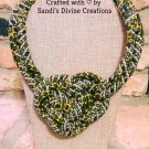 Ankara Necklace, African Necklace, Statement Necklace, Tribal Necklace, Gift for Mom, Gift For Her