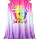 NWT Shopkins Shoppies SPK Dreams Rainbow Nightgown Sizes 4 5 6 7 8 10 12
