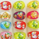 Buy It Now NWT Lot Of 12 Moose Shopkins Bakery Girls Assorted Rings