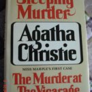 Sleeping Murder and The Murder of the Vicarage by Agatha Christie