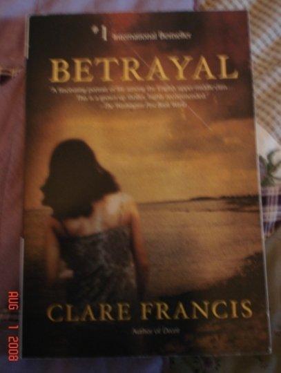 BETRAYAL BY CLARE FRANCIS