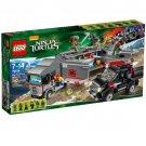 LEGO 79116 Teenage Mutant Ninja Turtles Big Rig Snow Getaway Building