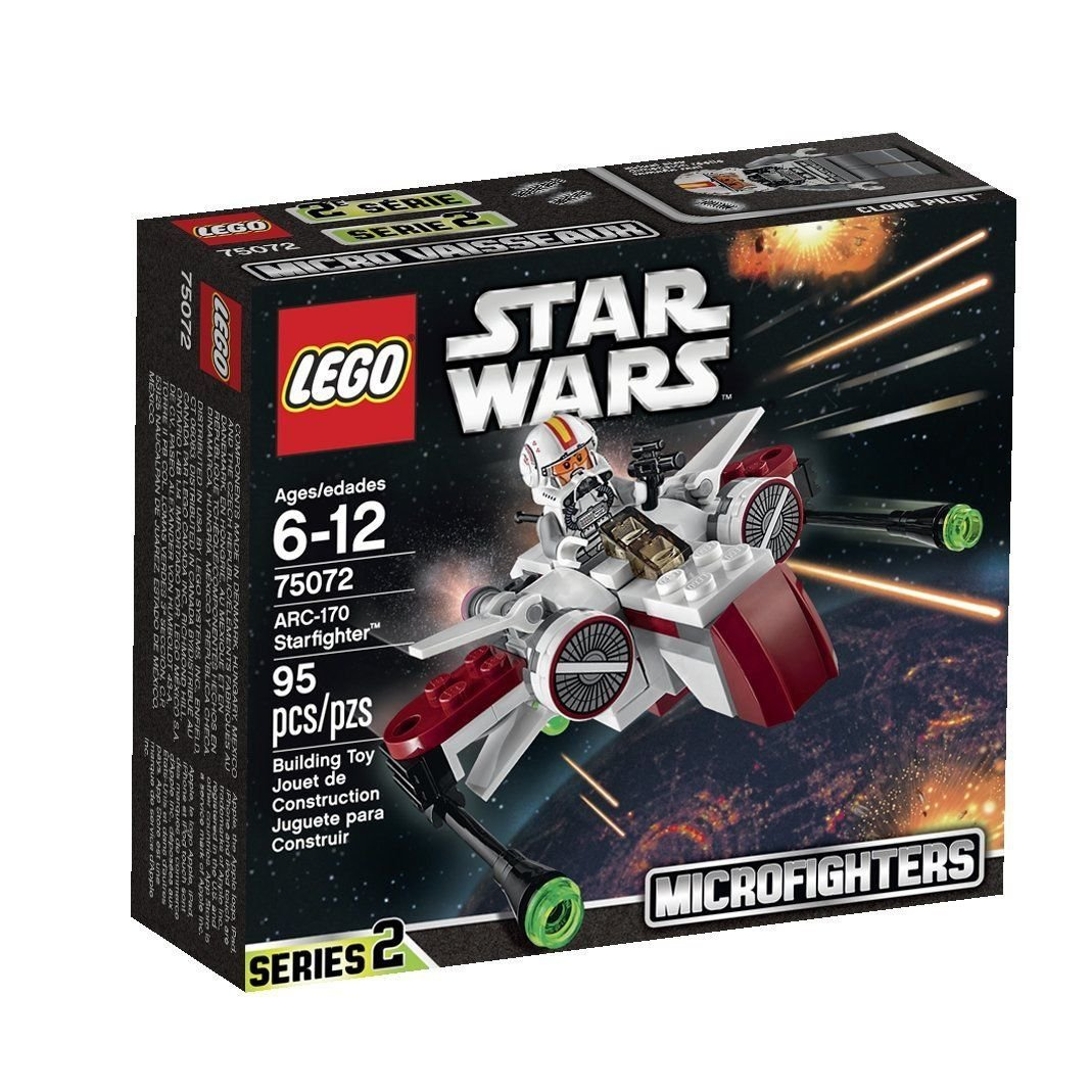 LEGO 75072 Star Wars ARC-170 Starfighter