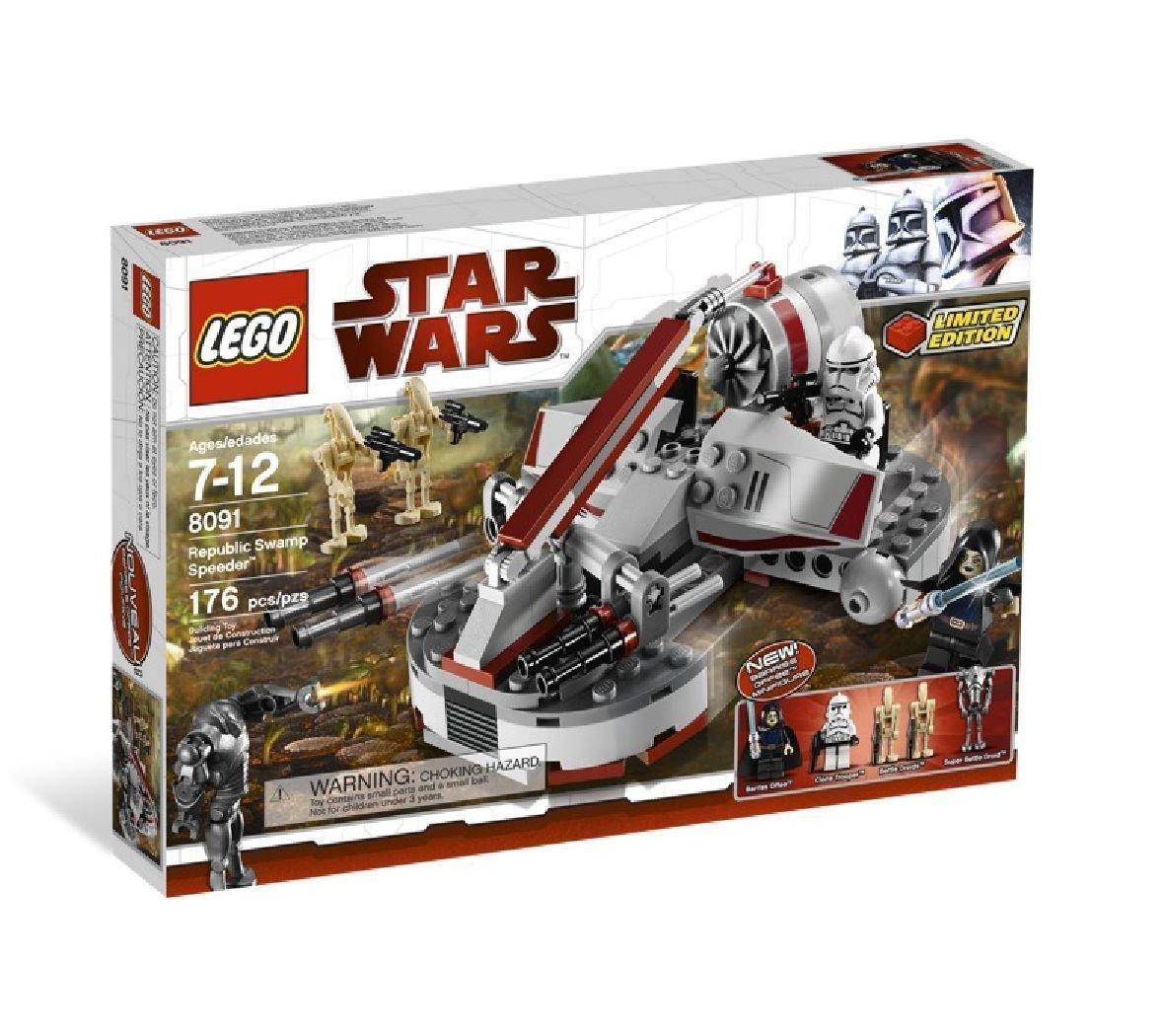 LEGO 8091 Star Wars Republic Swamp Speeder