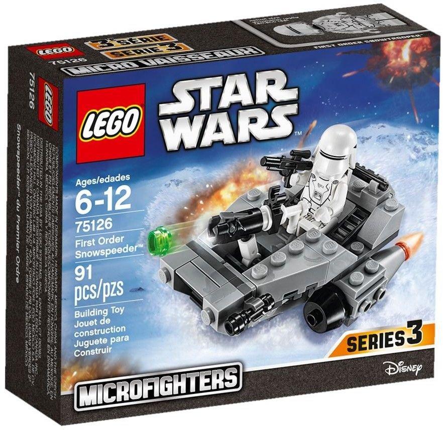 LEGO 75126 Star Wars First Order Snowspeeder Microfighters