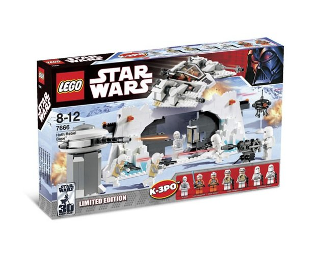LEGO 7666 Star Wars Hoth Rebel Base