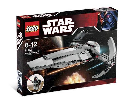 LEGO 7663 Star Wars Sith Infiltrator