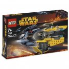 LEGO 7256 Star Wars Jedi Starfighter & Vulture Droid