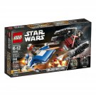 2018 NEW LEGO 75196 Star Wars A-Wing vs. TIE Silencer Microfighters