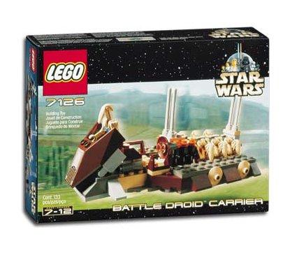 LEGO 7126 Star Wars Battle Droid Carrier