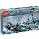 LEGO 8633 Agents Speedboat Rescue