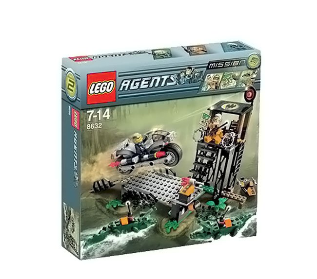 LEGO 8632 Agents Swamp Raid