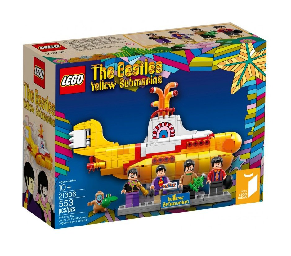 LEGO 21306 Ideas The Beatles Yellow Submarine